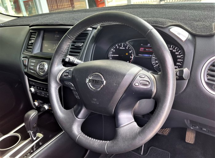 2017 Nissan Pathfinder ST R52 Series II MY17 Brilliant Silver