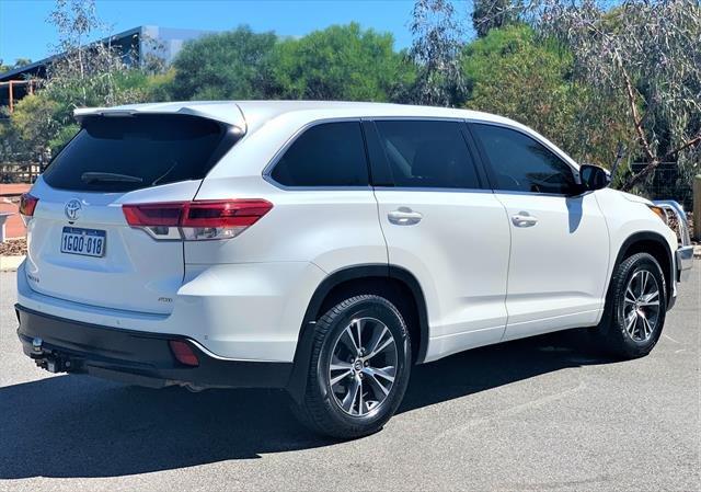 2018 TOYOTA Kluger GX GSU55R GX Wagon 7st 5dr Spts Auto 8sp AWD 3.5i (Sep) Crystal Pearl