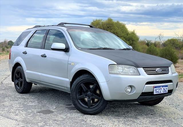 2005 Ford Territory Ghia SY Silver