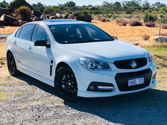2014 Holden Commodore SS V Redline VF MY14 White