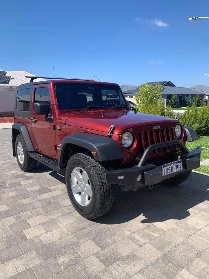 2010 Jeep Wrangler Sport JK MY10 4X4 Red