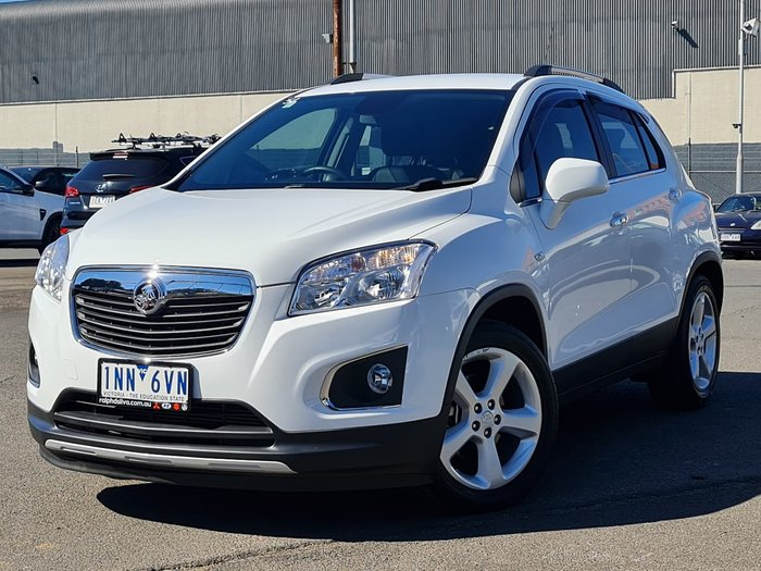2015 Holden Trax LTZ TJ MY15 White