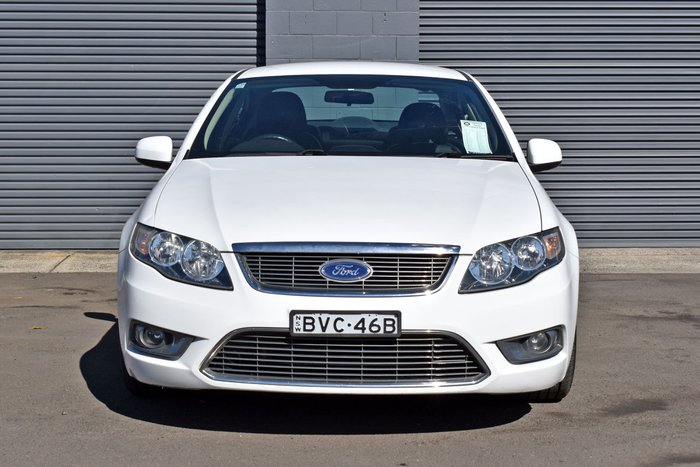 2010 Ford Falcon G6 50th Anniversary FG Winter White