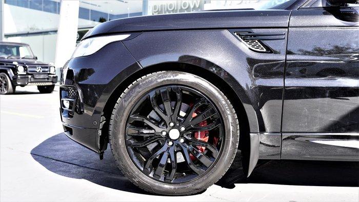 2014 Land Rover Range Rover Sport SDV8 HSE Dynamic L494 MY14.5 4X4 Dual Range Santorini Black