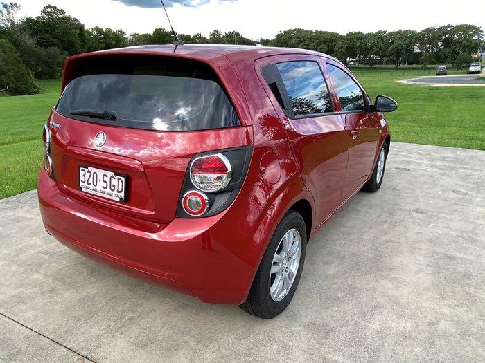 2012 Holden Barina TM Red