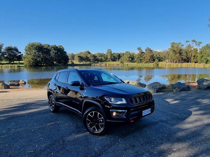 2021 Jeep Compass Trailhawk M6 MY20 4X4 Dual Range Brilliant Black