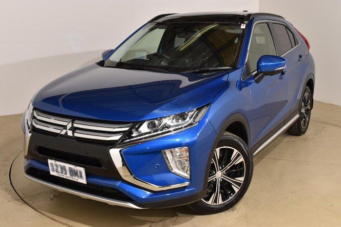 2017 Mitsubishi Eclipse Cross Exceed YA MY18 Lightning Blue