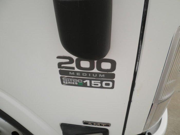 2015 ISUZU NNR200 CURTAINSIDER WHITE