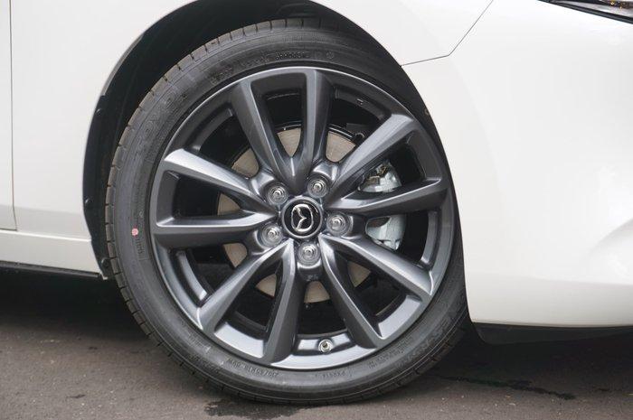 2021 Mazda 3 G25 GT BP Series Snowflake White Pearl