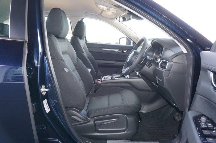 2021 Mazda CX-5 Maxx Sport KF Series Deep Crystal Blue