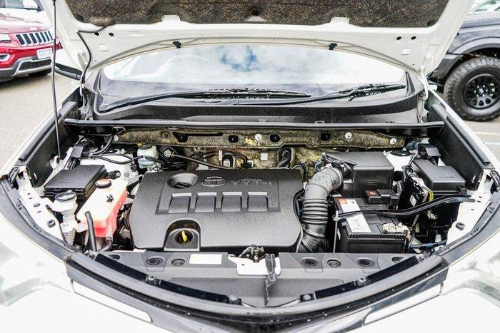 2015 Toyota RAV4 GX ASA44R AWD Glacier White