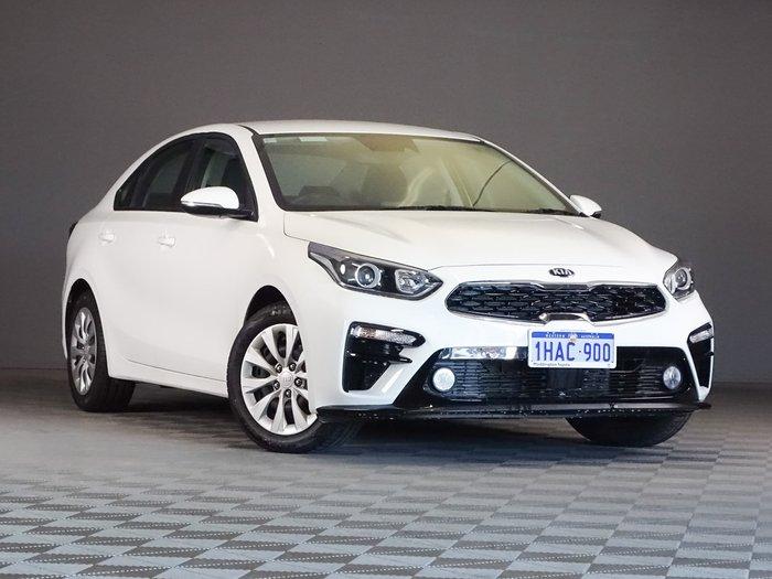 2020 Kia Cerato S BD MY21 White