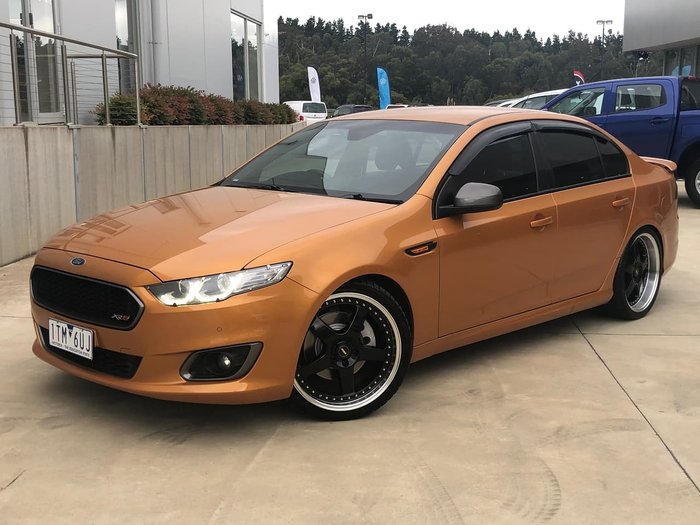 2015 Ford Falcon XR6 Turbo FG X Gold