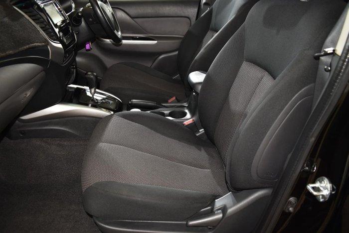 2016 Mitsubishi Triton GLS MQ MY16 4X4 Dual Range Black