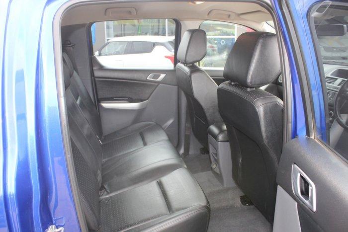 2012 Mazda BT-50 GT UP 4X4 Dual Range Aurora Blue
