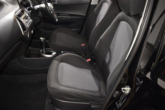 2013 Hyundai i20 Elite PB MY13 Phantom Black