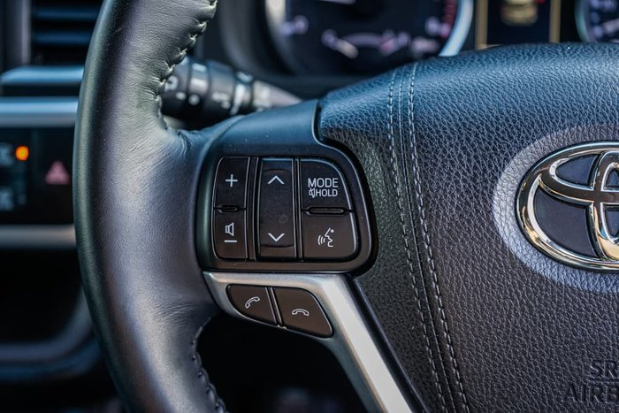 2018 Toyota Kluger GXL GSU50R Silver Storm