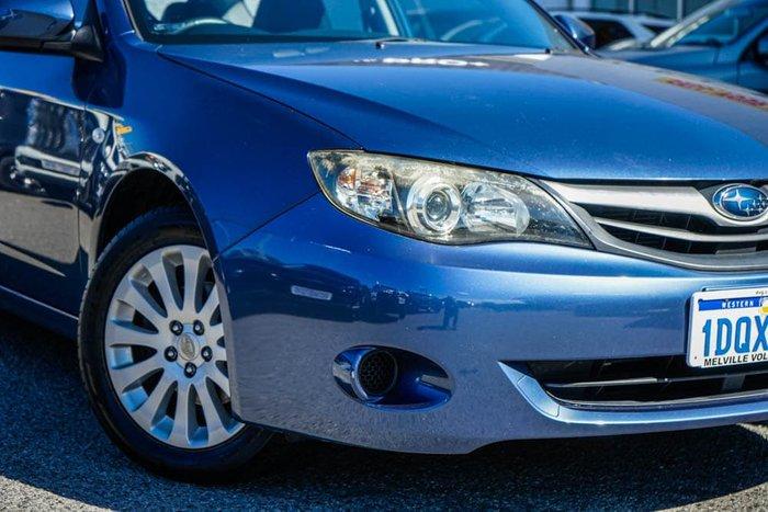 2011 Subaru Impreza R G3 MY11 AWD Blue