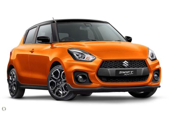 2021 Suzuki Swift Sport AZ Series II Orange
