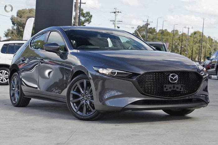2021 Mazda 3 G25 GT BP Series Machine Grey