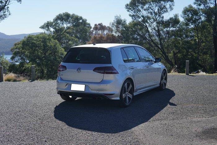 2017 Volkswagen Golf R 7 MY17 Four Wheel Drive Silver