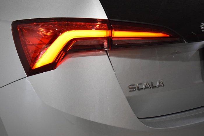 2020 SKODA Scala 110TSI Launch Edition NW MY20.5 Brilliant Silver