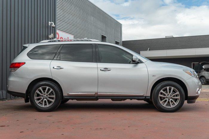 2014 Nissan Pathfinder ST-L R52 MY14 4X4 On Demand Brilliant Silver