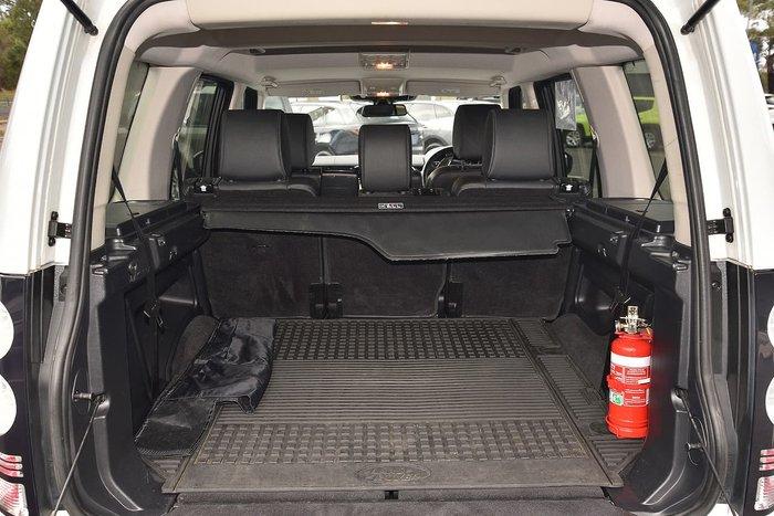 2015 Land Rover Discovery SDV6 SE Series 4 MY16 4X4 Dual Range White
