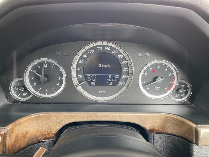 2009 Mercedes-Benz E-Class E350 Elegance W212 Alexandrite Green