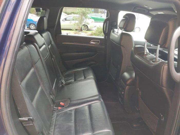 2018 Jeep Grand Cherokee Limited WK MY18 4X4 Dual Range Blue