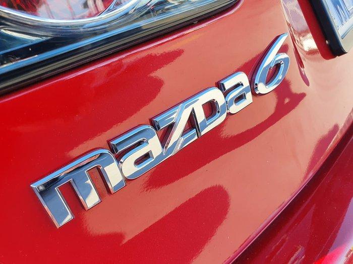 2007 Mazda 6 Classic Sports GG Series 2 MY07 Red