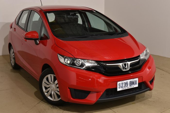 2015 Honda Jazz VTi GF MY15 Rally Red