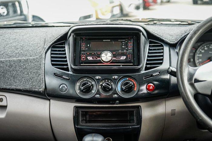 2010 Mitsubishi Triton GLX MN MY10 4X4 Dual Range White