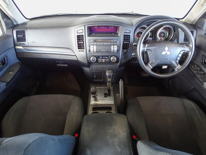 2007 Mitsubishi Pajero GLX NS 4X4 White