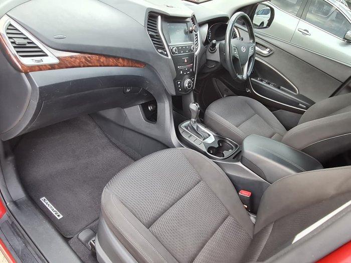 2016 Hyundai Santa Fe Active DM3 Series II MY16 4X4 On Demand Red