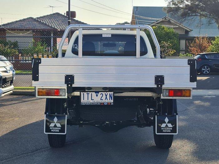 2015 Mitsubishi Triton GLX MQ MY16 White