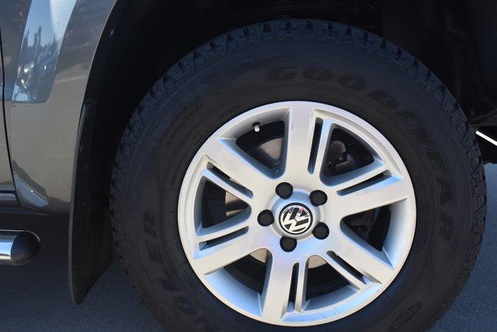 2014 Volkswagen Amarok TDI420 2H MY14 4X4 Constant Grey