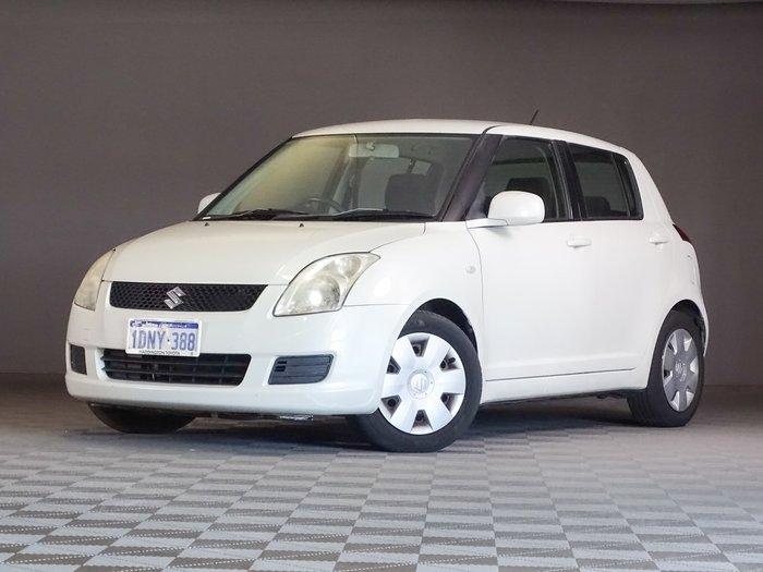 2010 Suzuki Swift RS415 White Pearl