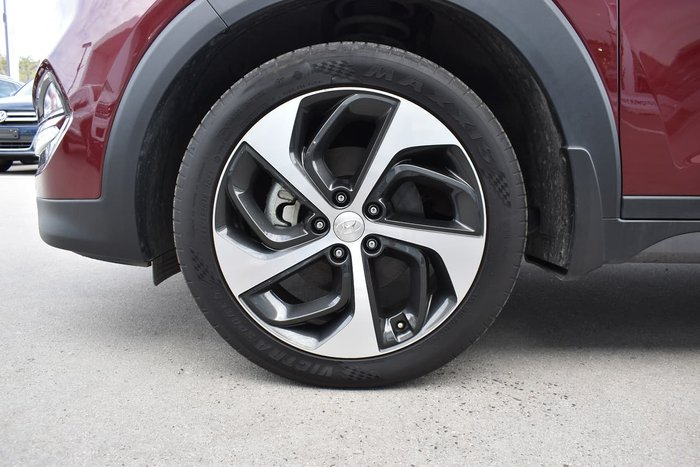 2016 Hyundai Tucson Highlander TLe AWD Maroon