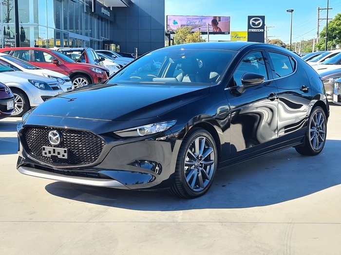 2020 Mazda 3 G20 Touring BP Series Black