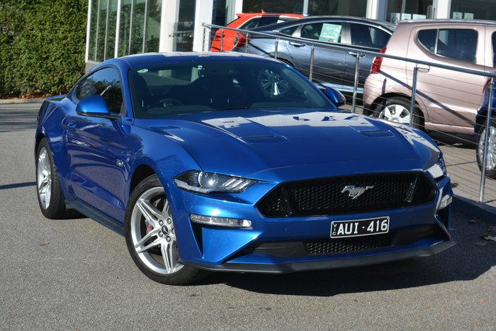 2018 Ford Mustang GT FN MY19 Velocity Blue