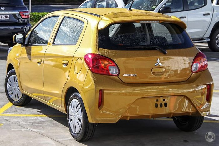 2021 Mitsubishi Mirage ES LB MY21 Sand Yellow