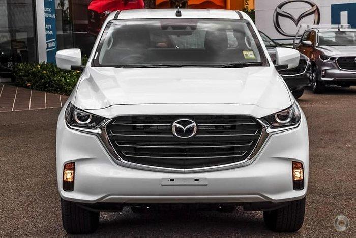 2020 Mazda BT-50 XT TF 4X4 Dual Range Ice White