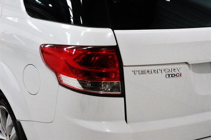 2014 Ford Territory TS SZ AWD White