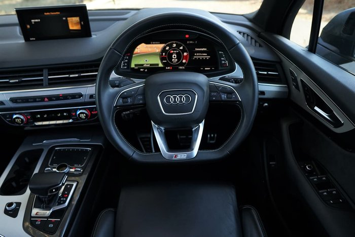 2019 Audi SQ7 TDI Special Edition 4M MY19 Four Wheel Drive Grey
