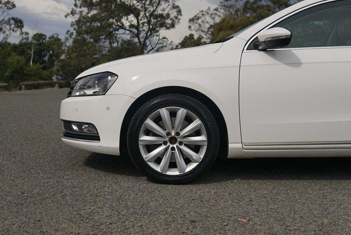2011 Volkswagen Passat 118TSI Type 3C MY12 White
