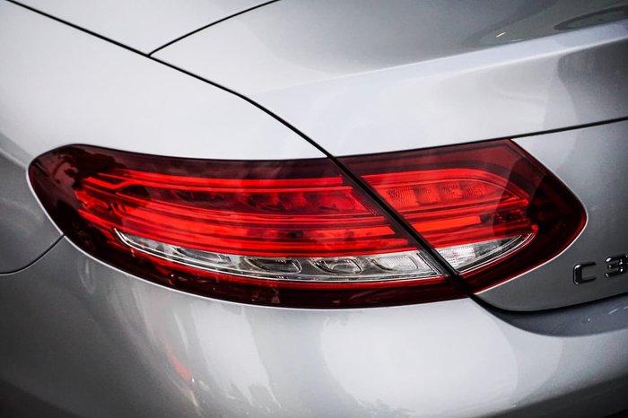 2018 Mercedes-Benz C-Class C300 A205 Silver