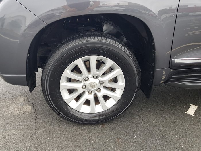 2017 Toyota Landcruiser Prado Altitude GDJ150R 4X4 Dual Range Graphite