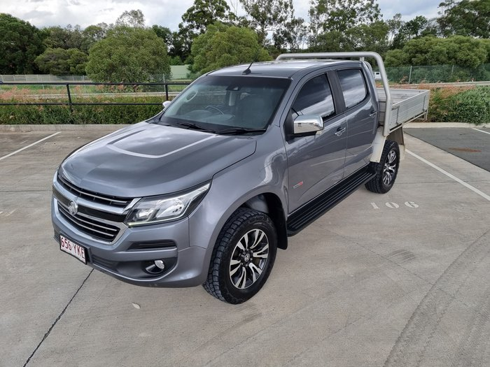 2018 Holden Colorado LTZ RG MY18 4X4 Dual Range Satin Steel Grey