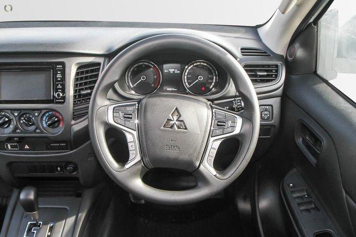 2021 Mitsubishi Triton GLX MR MY21 4X4 Dual Range White